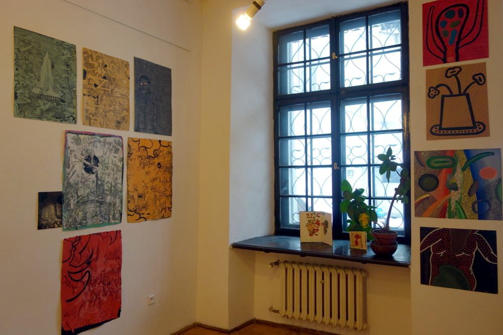 """Wystawa """"R 1"""", Jan Fejkiel Gallery w Krakowie (źródło: materiały prasowe organizatora)"""