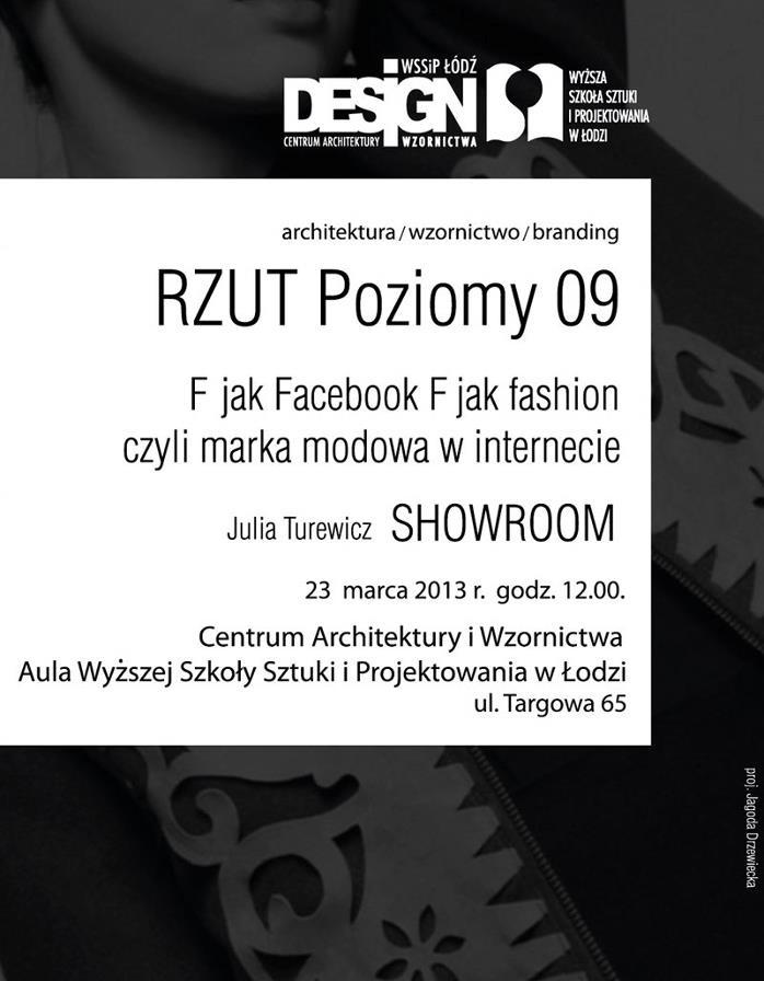 F jak Facebook, F jak fashion czyli marka modowa w internecie (źródło: materiały prasowe organizatora)