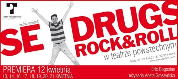 """Eric Bogosian, """"Sex, drugs & rock'n' roll"""", Teatr Powszechny w Warszawie (źródło: materiały prasowe)"""