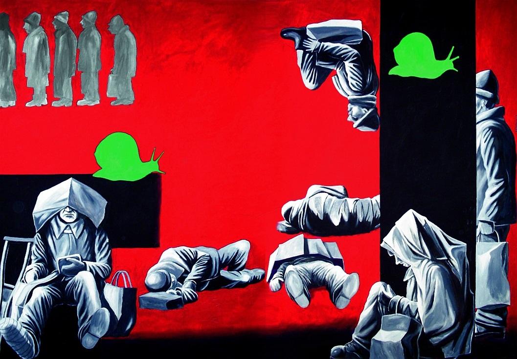 """Sławomir Lewczuk, """"Wokół przestrzeni II"""", 2012 (źródło: materiały prasowe organizatora)"""