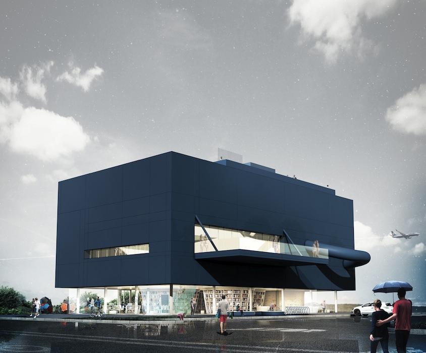 Biblioteka modelowa, proj. UGO Architecture & Design: Hugon Kowalski (źródło: materiały prasowe)