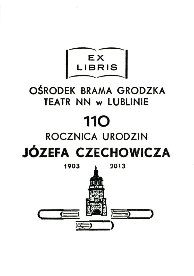 """""""110 Urodziny Józefa Czechowicza"""", Lublin, plakat (źródło: materiał prasowy)"""