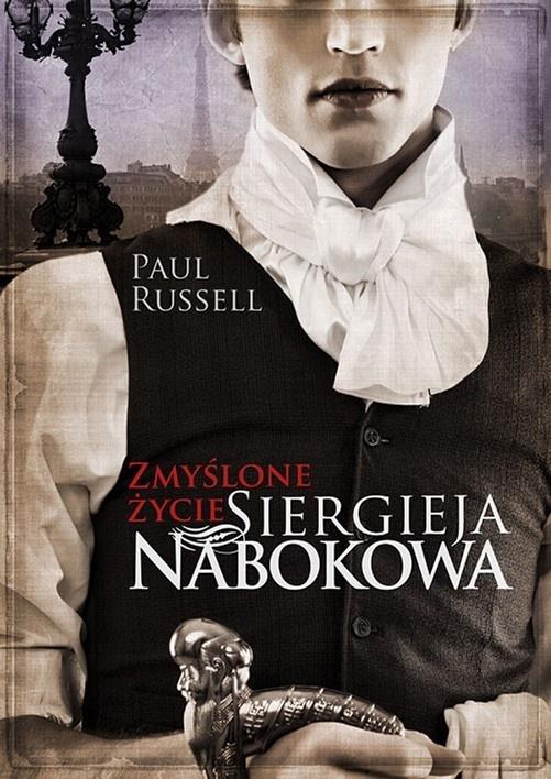 Zmyślone życie Siergieja Nabokova, okładka (źródło: materiały prasowe wydawcy)