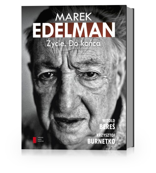 """Marek Edelman. Życie. Do końca"", okładka (źródło: mat. prasowe)"