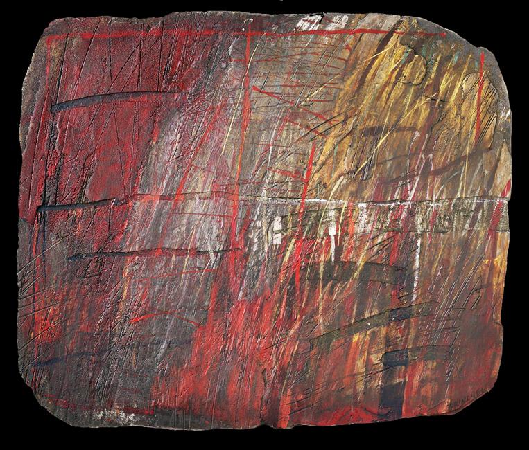 """Adam Brincken, z cyklu """"Papierowy Kamień X"""", 1995-1998 (źródło: materiały prasowe organizatora)"""