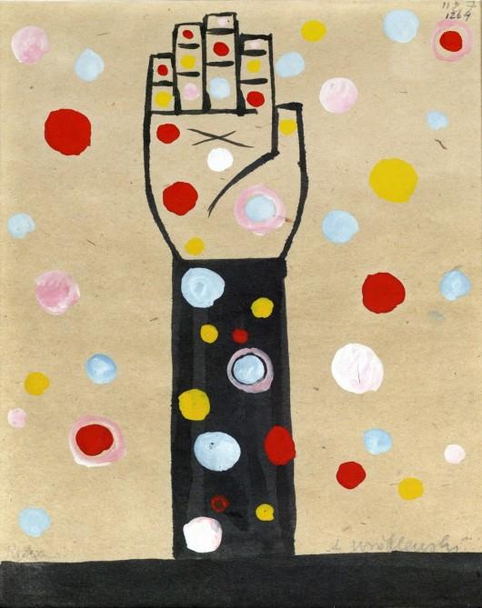 """Andrzej Wróblewski, """"Ręka"""", 1957 (źródło: materiały prasowe organizatora)"""