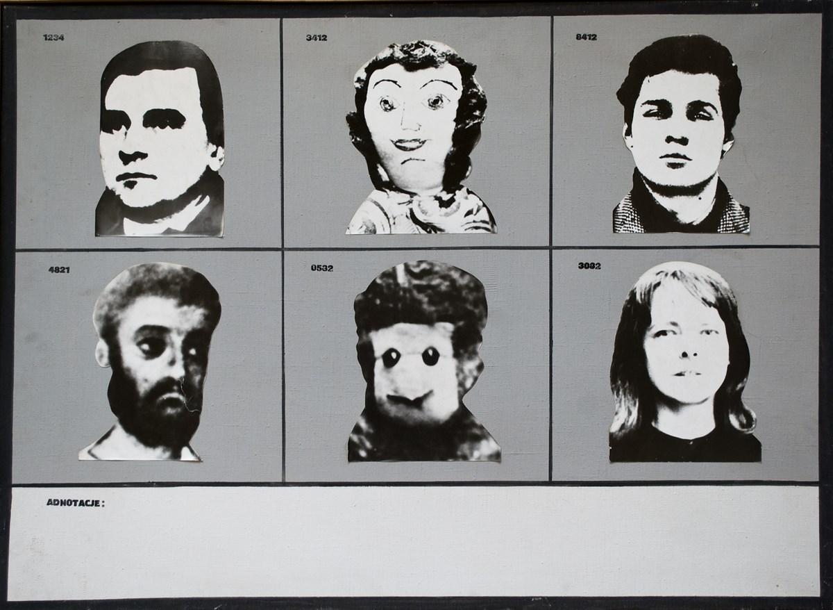 Danuta Urbanowicz, Bez tytułu, 1972, reprodukcja z Archiwum Galerii Zderzak (źródło: materiały prasowe organizatora)