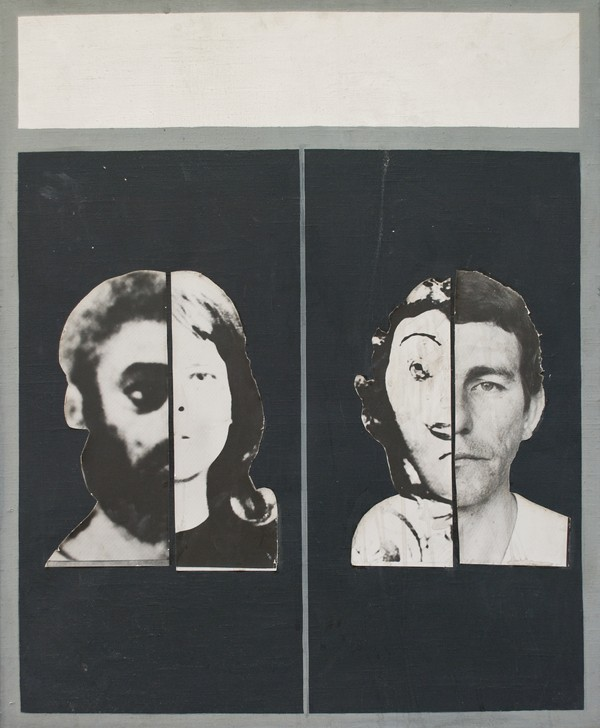 """Danuta Urbanowicz, """"Portret rodzinny"""", 1972, reprodukcja z Archiwum Galerii Zderzak (źródło: materiały prasowe organizatora)"""