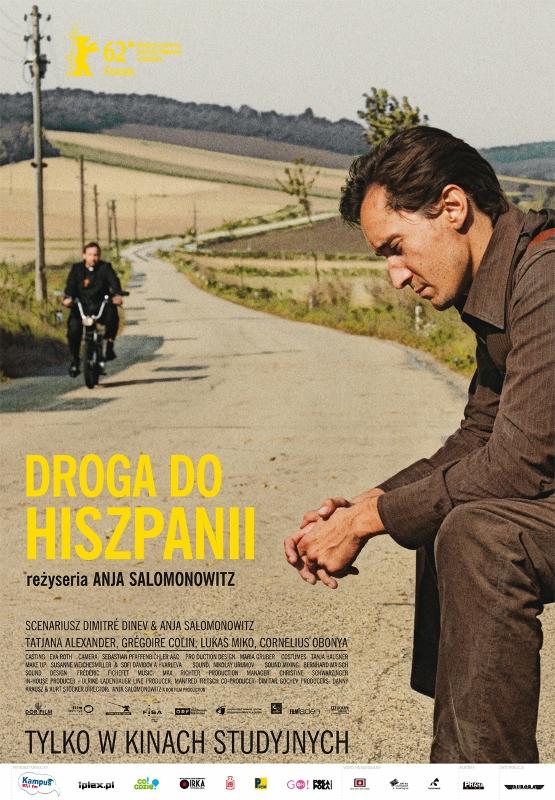 """""""Droga do Hiszpanii"""", plakat (źródło: materiały prasowe dystrybutora)"""