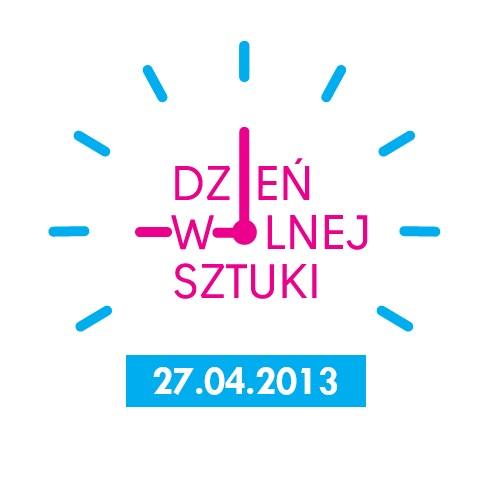 Dzień Wolnej Sztuki, logo (źródło: materiały prasowe organizatora)