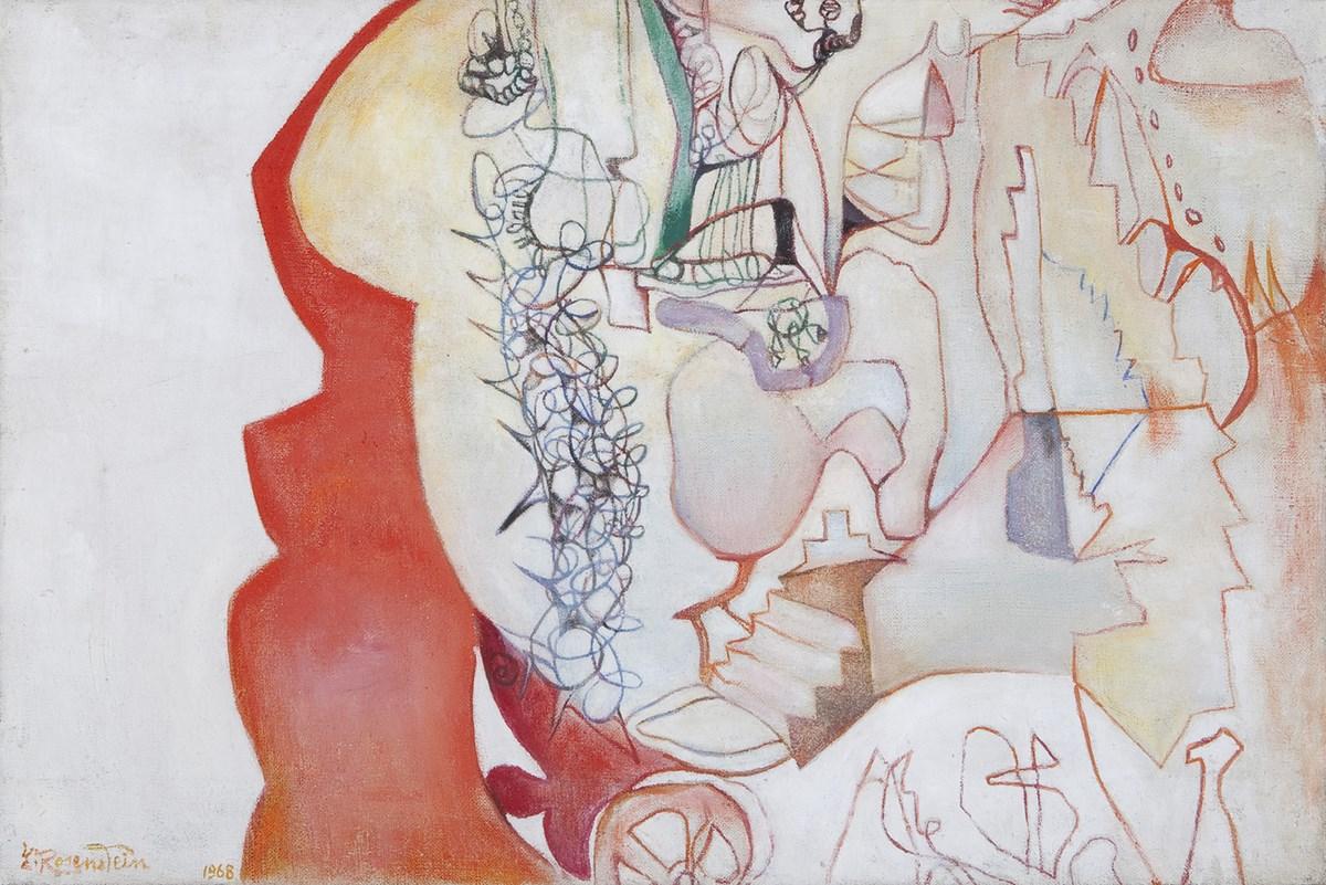 "Erna Rosenstein, ""Organizm"" (1968), własność prywatna"