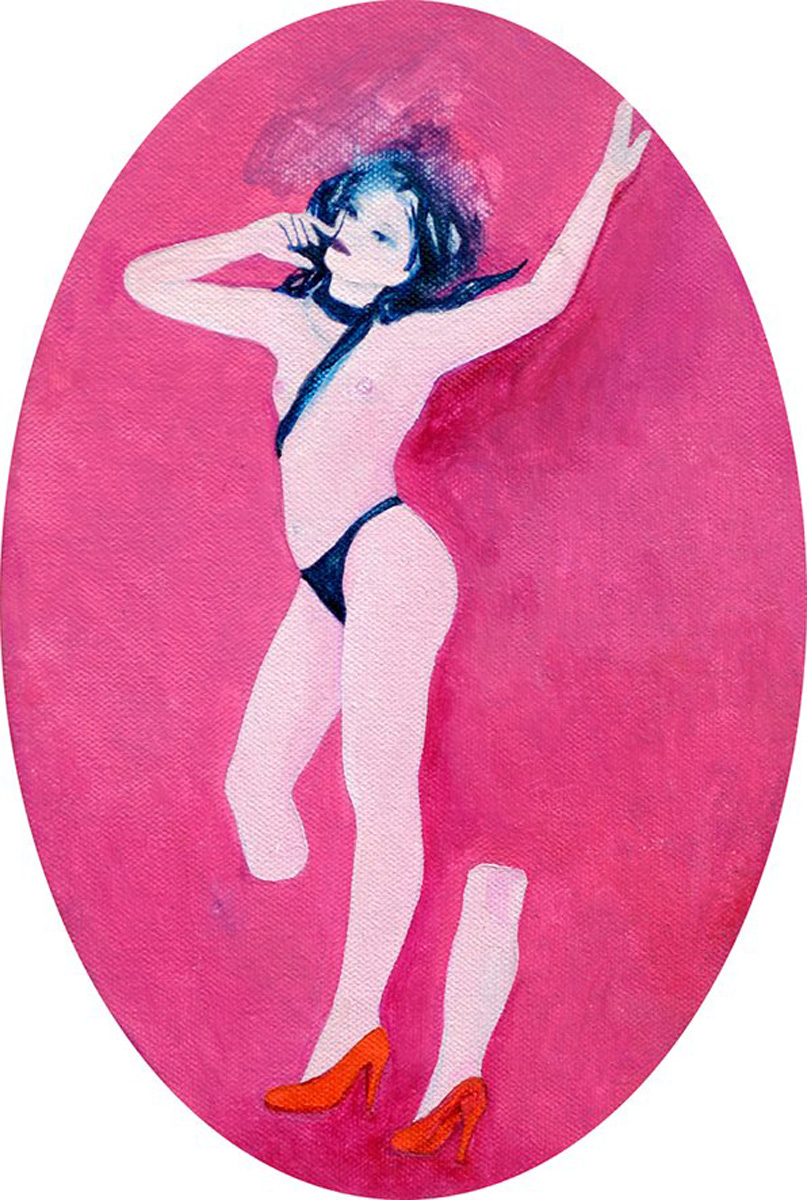 """Ewa Zwarycz, """"Nóżka"""", 2010 (źródło: materiały prasowe organizatora)"""