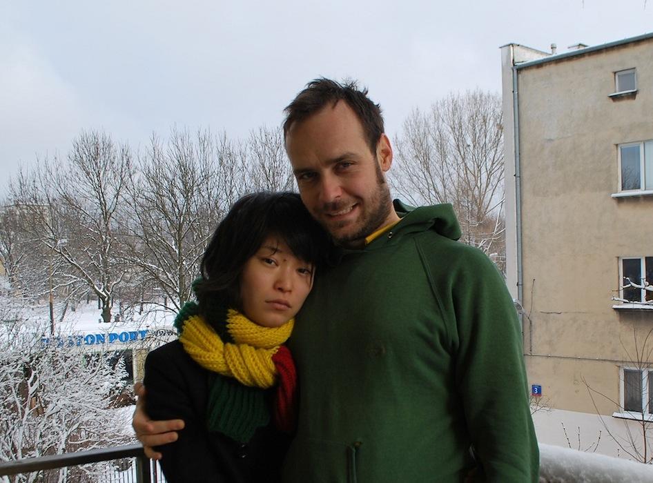Matej Bobrik z żoną Mariko Saga (źródło: materiały prasowe organizatora)