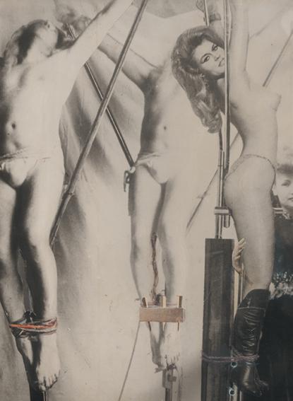 Ghislain Dussart, Bez tytułu, lata 60. Technika mieszana, 40 x 29,5 cm. Dzięki uprzejmości Michael Fuchs Galerie GmbH