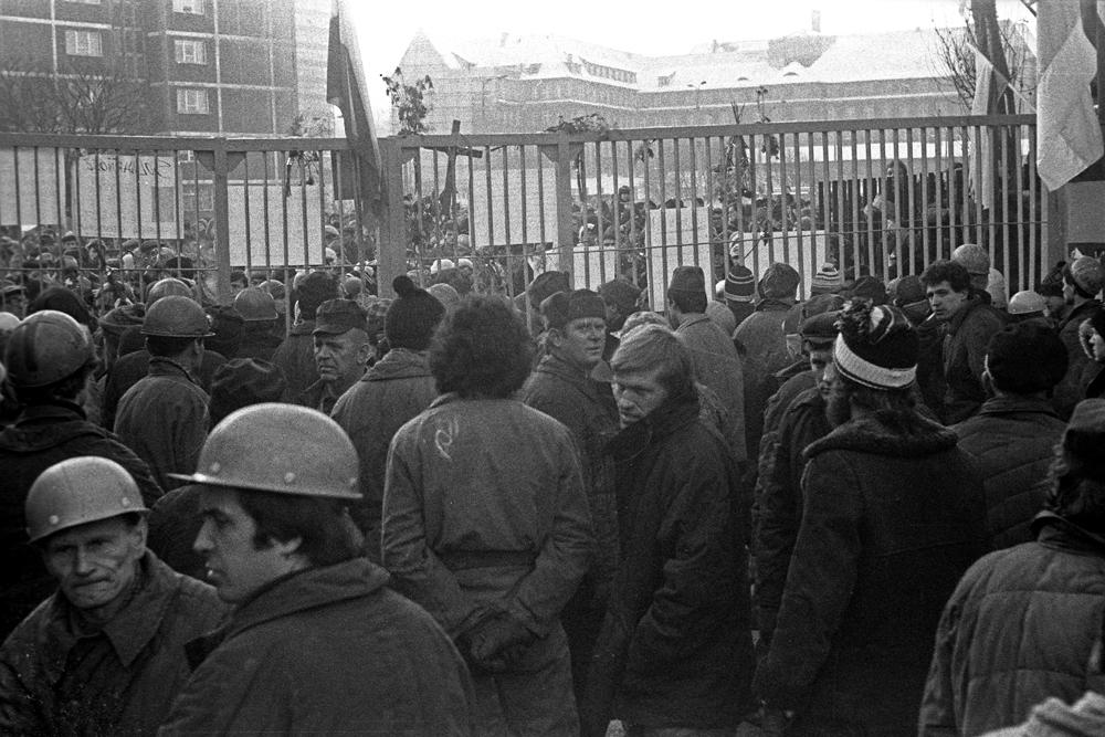 """Wystawa """"Grudzień'81 – Pierwsze dni stanu wojennego"""", Galeria Ciasna w Jastrzębiu-Zdroju (źródło: materiały prasowe organizatora)"""
