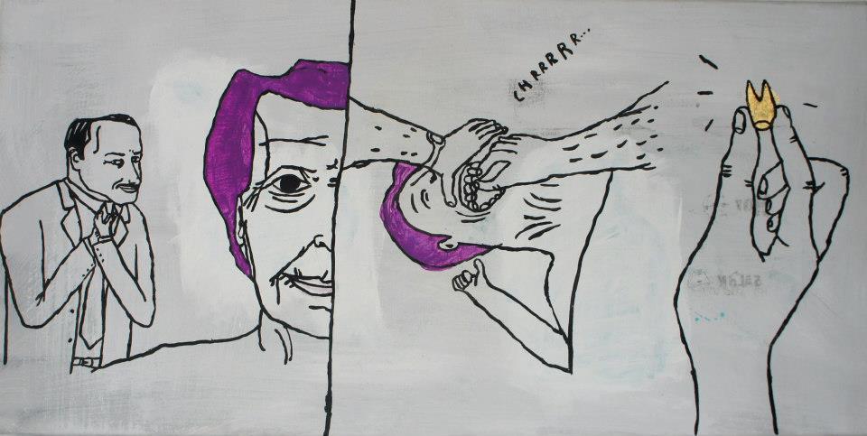 Janek Koza, Bez tytułu, 2011 (źródło: materiały prasowe organizatora)