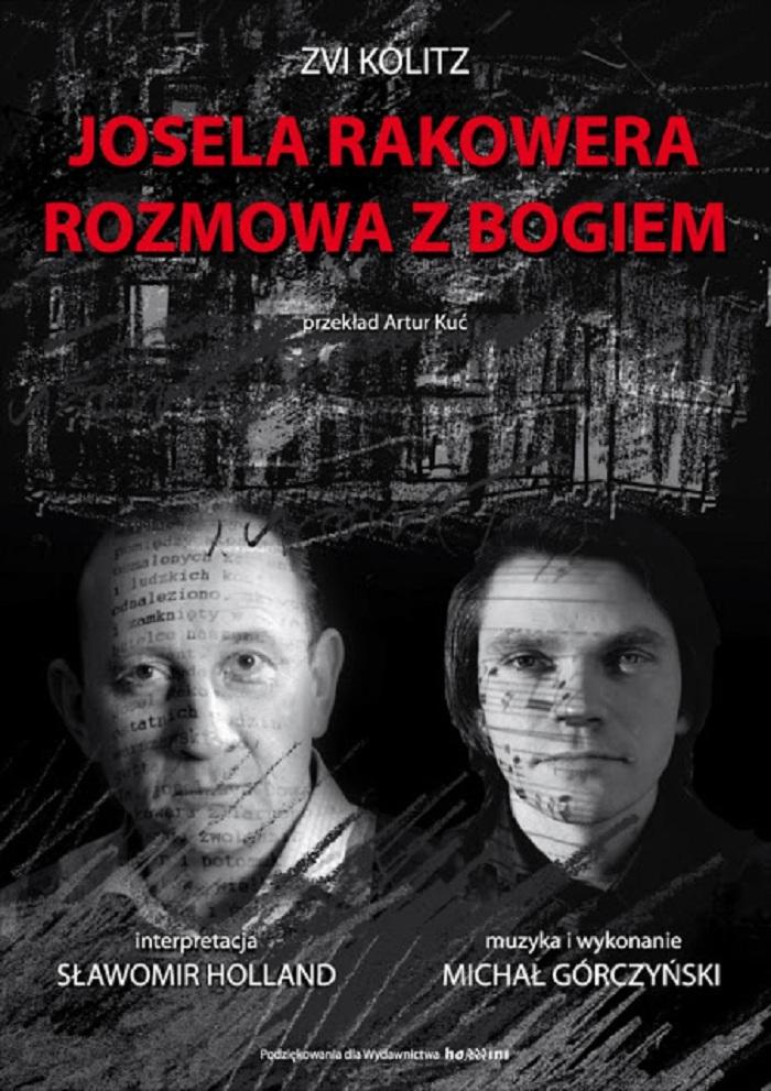 Josela Rakowera rozmowa z Bogiem, plakat (źródła: mat. prasowe)
