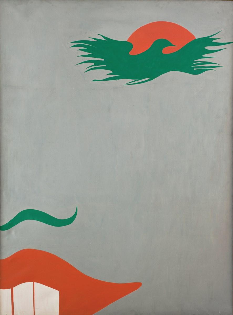 """Jurry Zieliński, """"Ironia"""", 1979, reprodukcja z Archiwum Galerii Zderzak (źródło: materiały prasowe organizatora)"""