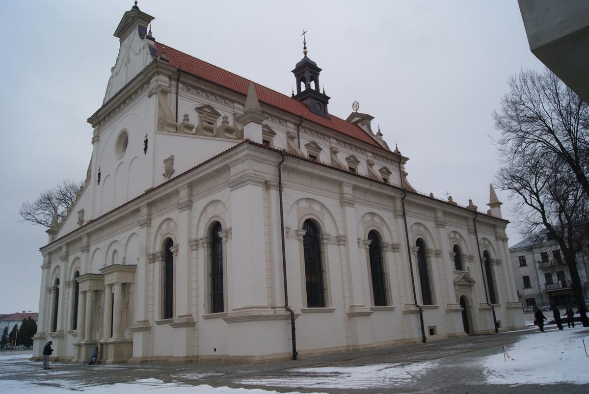 Parafia Katedralna w Zamościu, po konserwacji (źródło: materiały prasowe organizatora)