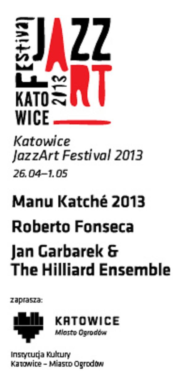 Katowice JazzArt Festival 2013 (źródło: mat. prasowe)