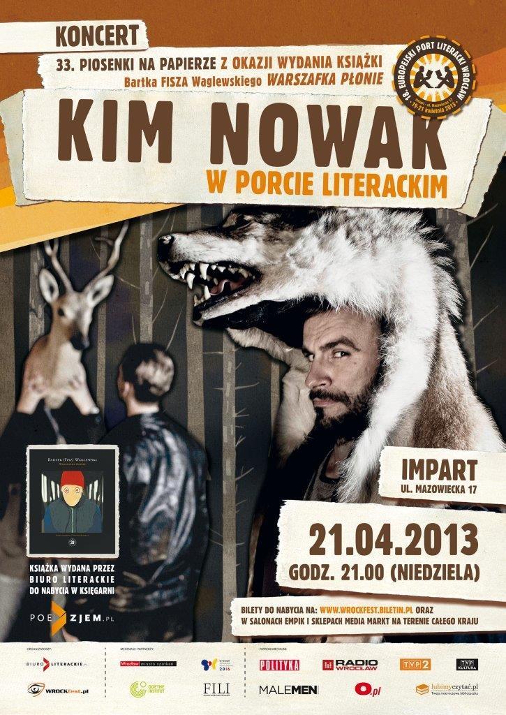 Kim Nowak, plakat (źródło: mat. prasowe)