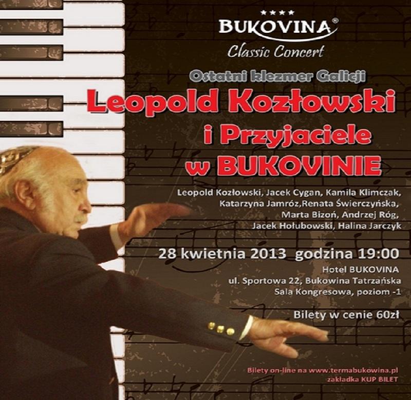 Leopold Kozłowski, plakat (źródło: mat. prasowe)