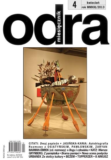 Okładka kwietniowej Odry (źródło: materiały prasowe)