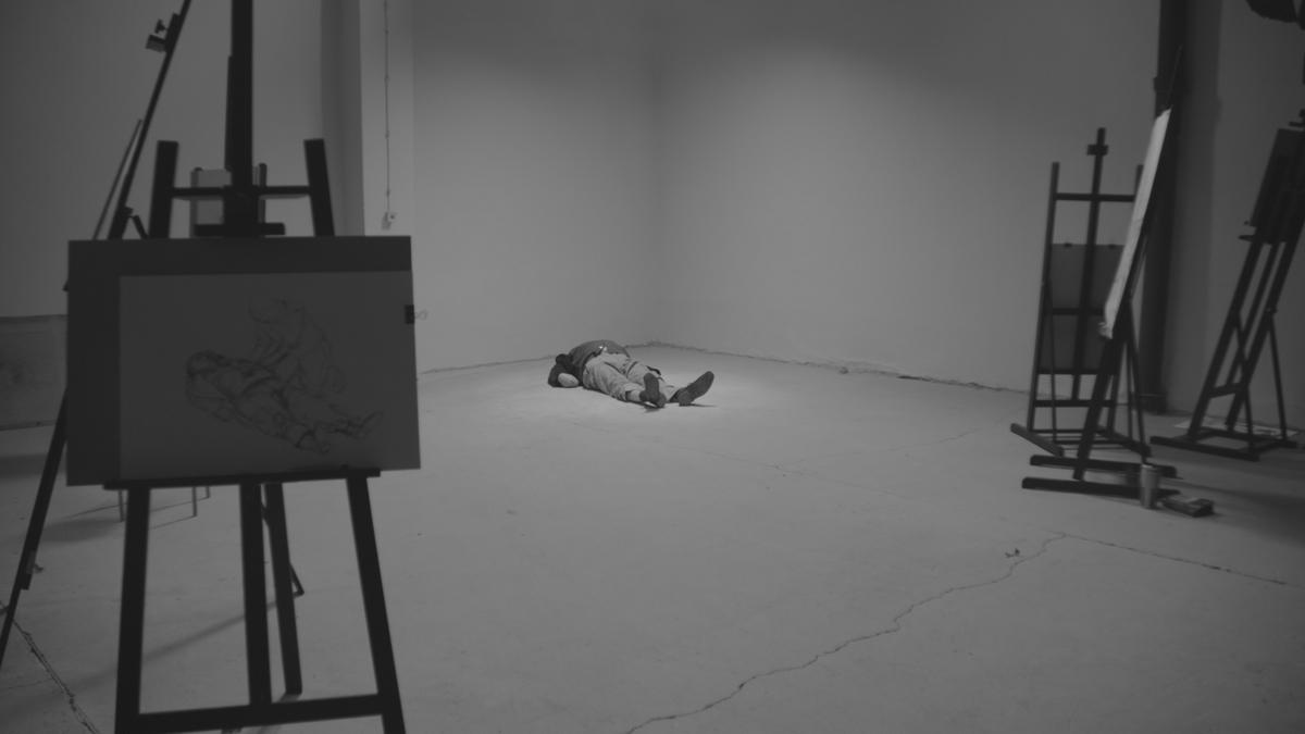 """Olaf Brzeski, praca do wystawy """"Blask"""" w Galerii Arsenał w Białymstoku (źródło: materiały prasowe organizatora)"""