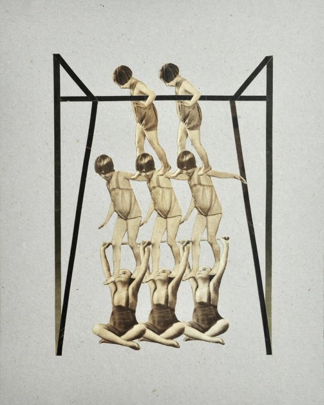 """Patrycja Orzechowska, """"Haus"""", z cyklu """"Kinderturnen"""" (źródło: materiały prasowe organizatora)"""