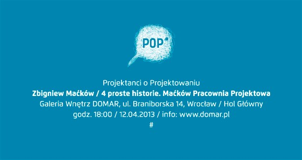 Projektanci o projektowaniu: Zbigniew Maćków (źródło: materiały prasowe organizatora)