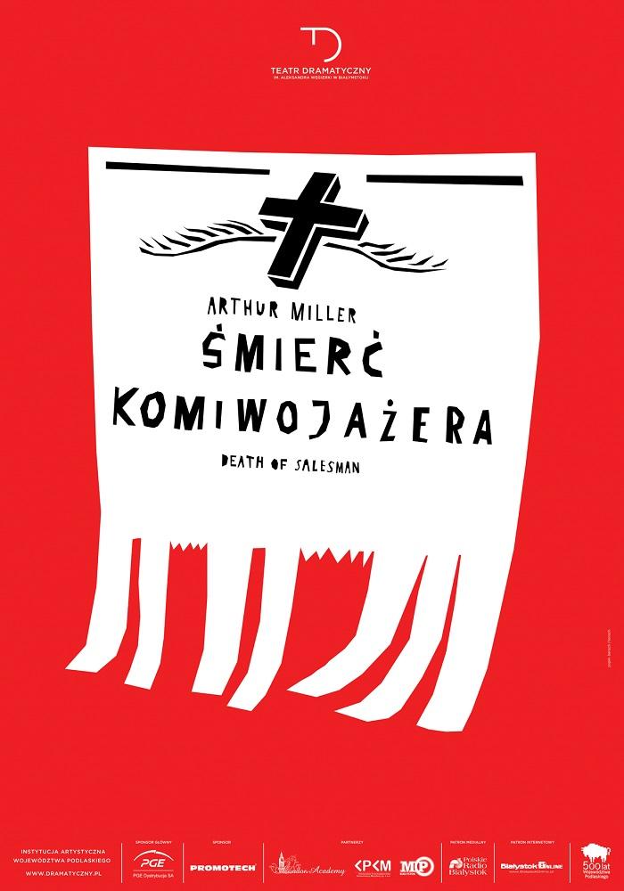"""""""Śmierć Komiwojażera"""", reż. Iwo Vedral, Teatr Dramatyczny im. Aleksandra Węgierki w Białymstoku (źródło: materiały prasowe)"""