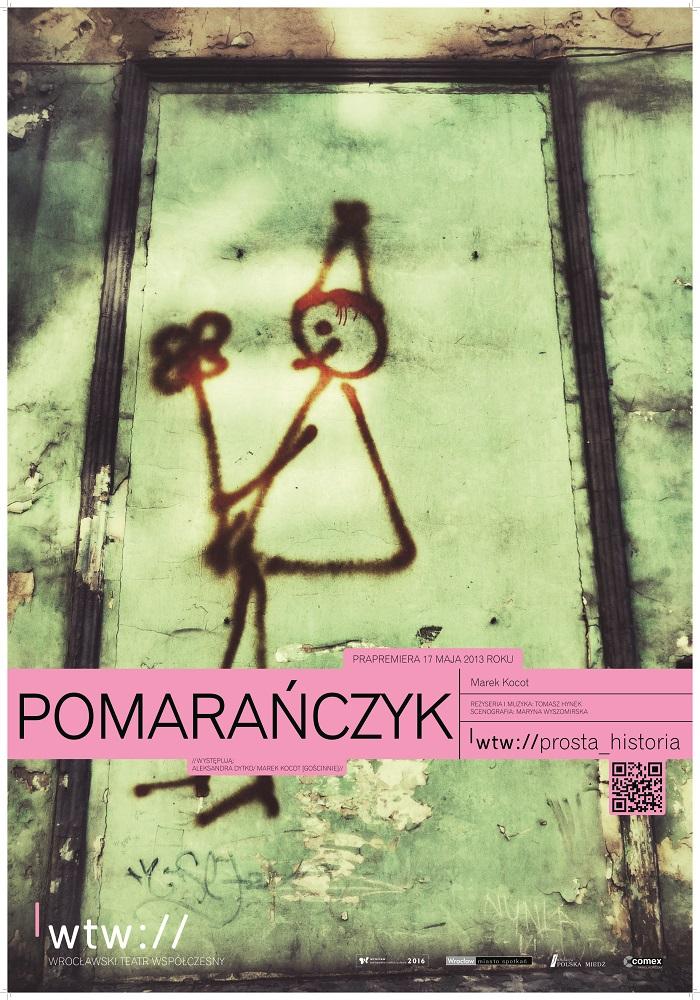 """Tomasz Hynek, """"Pomarańczyk"""" (źródło: materiały prasowe)"""