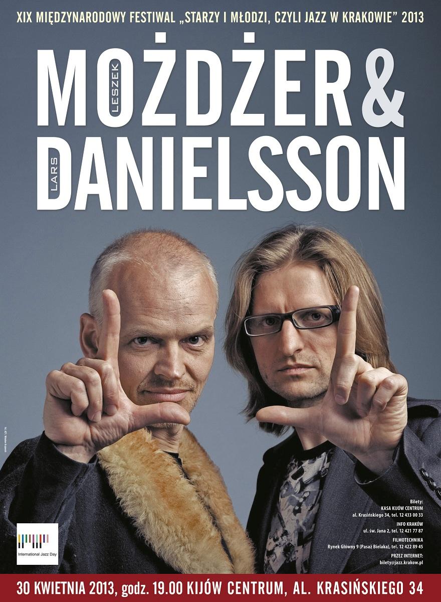 Możdżer & Danielsson, plakat (źródło: mat. prasowe)