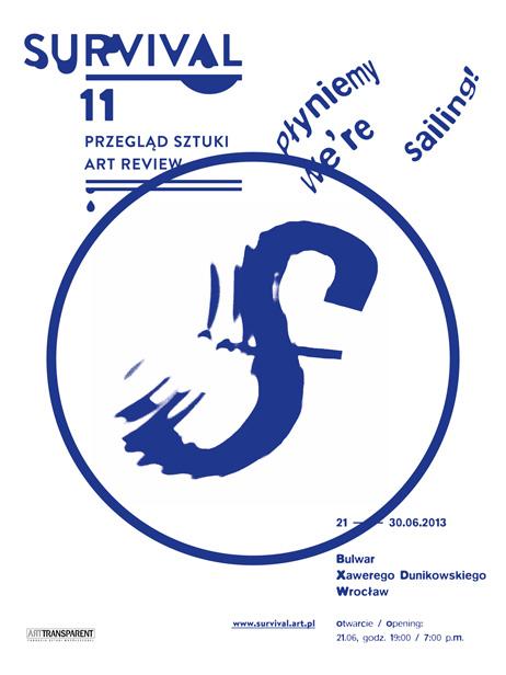 11. Przegląd Sztuki Survival we Wrocławiu, plakat (źródło: materiały prasowe organizatora)