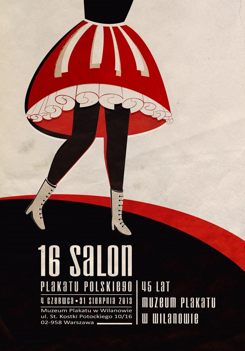 16. Salon Plakatu Polskiego, Muzeum Plakatu w Wilanowie, plakat (źródło: materiały prasowe organizatora)