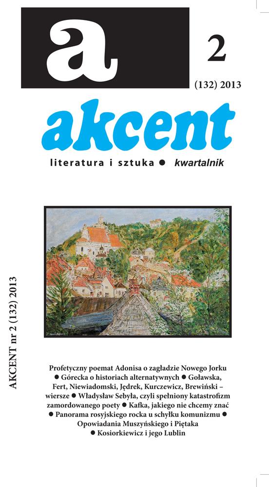 Okładka najnowszego Akcentu (źródło: materiały prasowe)