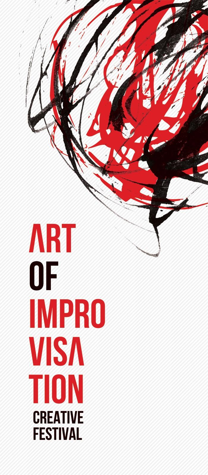 ART OF IMPROVISATION Creative Festival, logo (źródło: mat. prasowe)