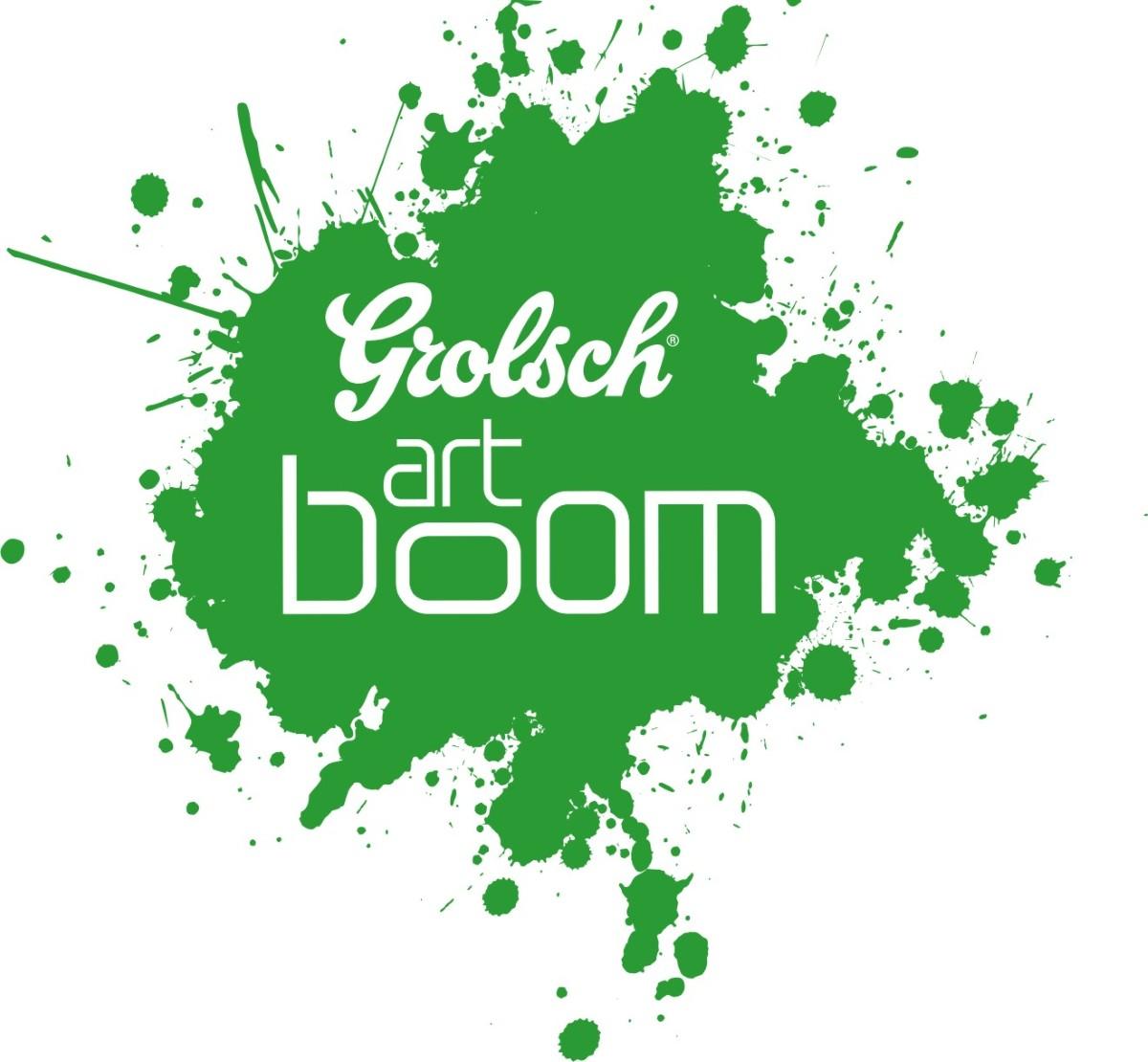 Grolsch Artboom, logo (źródło: mat. prasowe)
