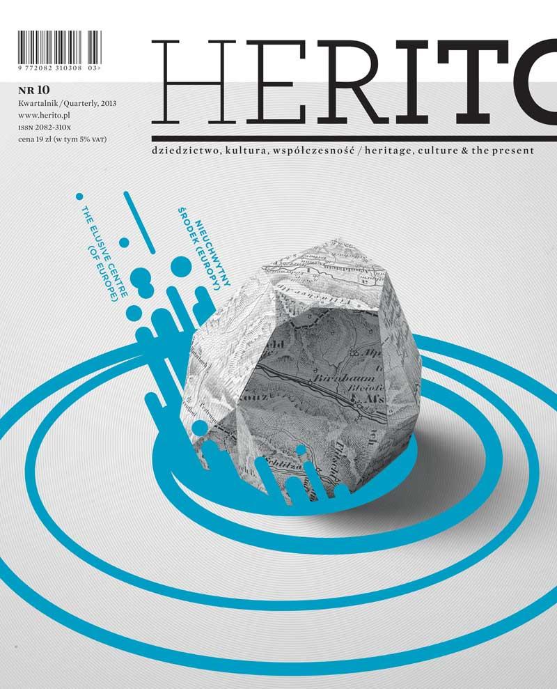 Okładka majowego Herito (źródło: materiały prasowe)