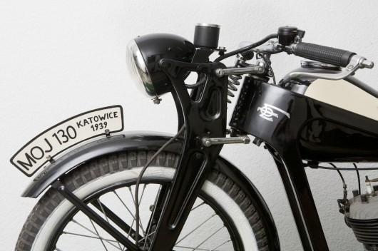 Motocykl MOJ 130 z Katowic (źródło: materiały prasowe organizatora)