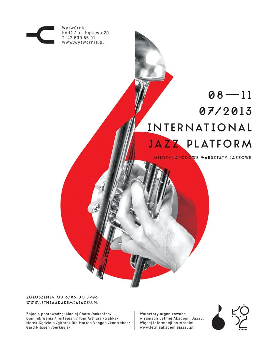 International Jazz Platform, plakat (źródło: mat. prasowe)