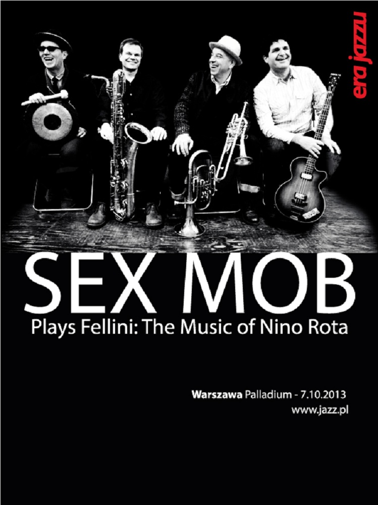 Koncert Sex Mob, plakat (źródło: mat. prasowe)