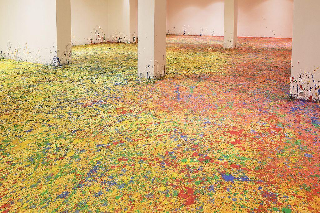 Leon Tarasewicz, Malarstwo, wernisaż, Galeria Bielska BWA, fot. Krzysztof Morcinek, 2 maja 2013 roku (źródło: materiały prasowe organizatora)