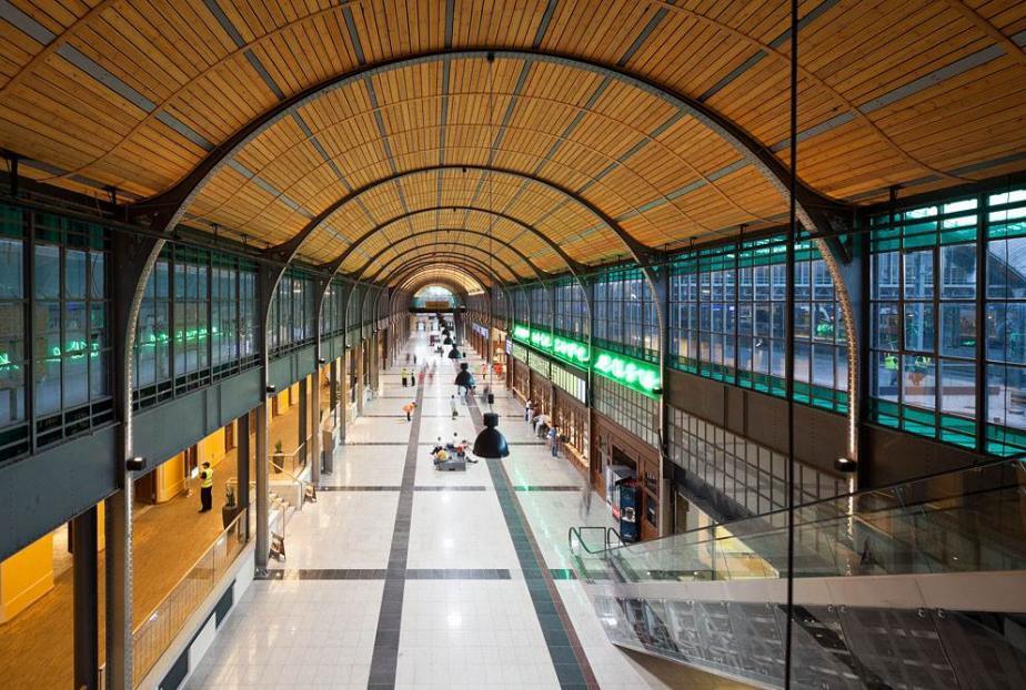 Wnętrze Dworca Wrocław Główny, proj. Grupa 5 Architekci (źródło: materiały prasowe)