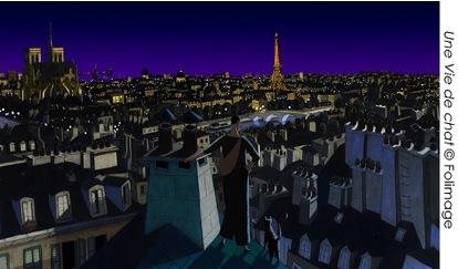 """""""Kot w Paryżu"""" – studio animacji Folimage (źródło: materiały prasowe organizatora)"""