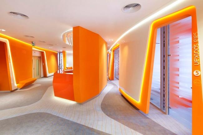 Wnętrze ING Banku Śląskiego, proj. Robert Majkut Design (źródło: materiały prasowe organizatora)
