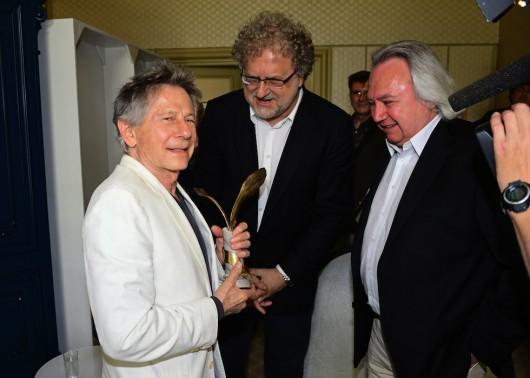 Roman Polanski, Dariusz Jabloński, Andrzej Serdiukow, fot. R. Nawrocki (źródło: materiały prasowe)