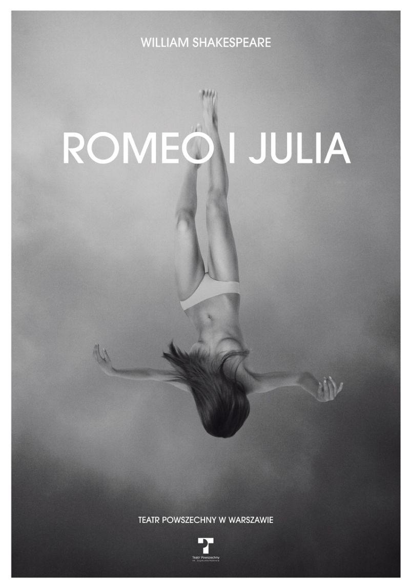 """""""Romeo i Julia"""" – plakat, autor plakatu: Grzegorz Laszuk (źródło: materiały prasowe)"""
