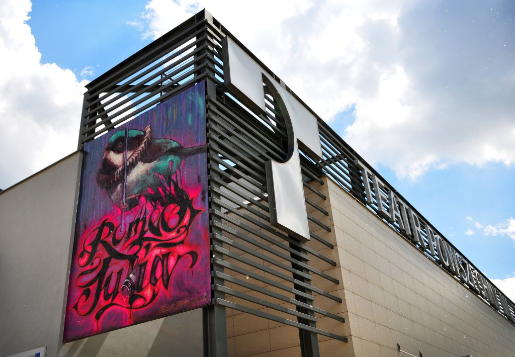 mural na ścianie Teatru Powszechnego w Warszawie (źródło: materiały prasowe)