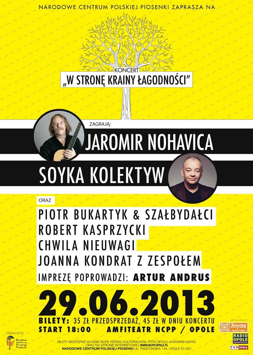 """""""W stronę krainy łagodności"""", plakat (źródło: mat. prasowe)"""